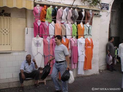 2007年8月 モロッコ・タンジェにて