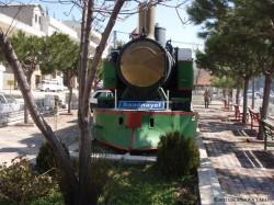 ベカーア高原における交通の要所、ザハレ郊外に展示されていた保存車両